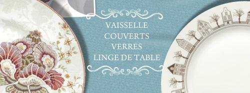 vaisselle, couverts, verres, ligne de table