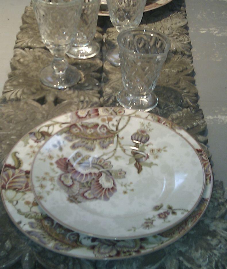 Vaisselle ancienne achat vente de vaisselle pas cher - Decoration assiette dessert ...