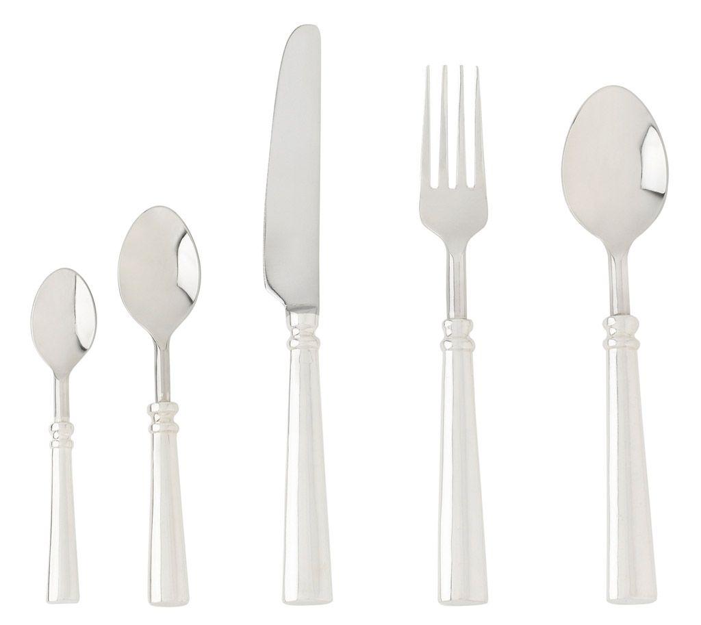 Venus - Couteau de table métal argenté (par 6) pour 36€