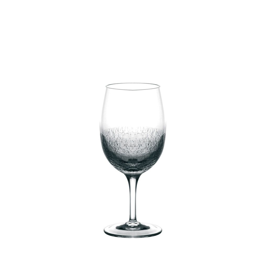 Addict - Verre à vin soufflé bouche ( par 6)