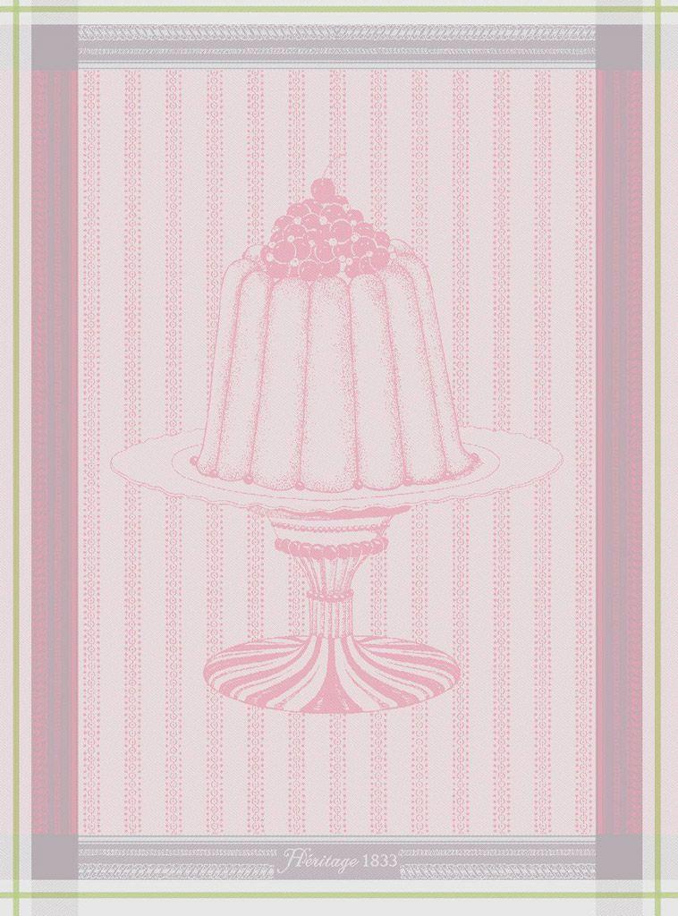 Gateaux - Torchon charlotte à la rose pour 14€