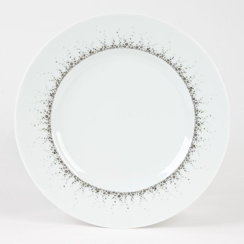 assiette dessert en porcelaine par. Black Bedroom Furniture Sets. Home Design Ideas
