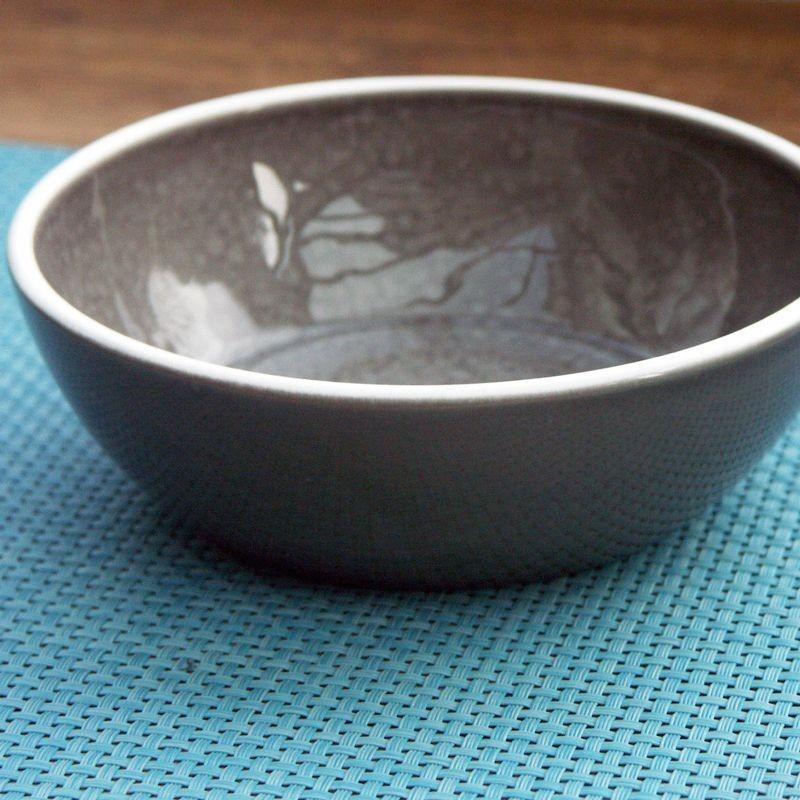 Sixties - Assiette à céréales creuse Taupe (par6)