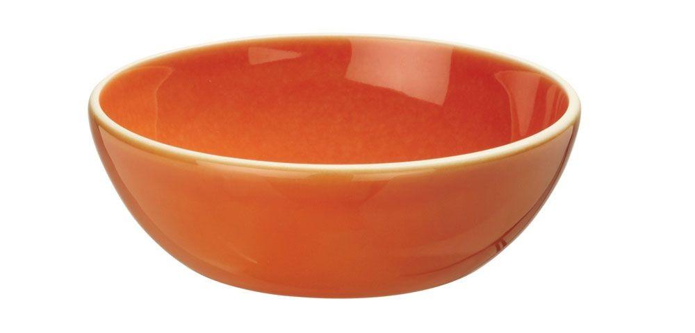 Sixties - Assiette à céréales creuse Orange 16cm (par6)