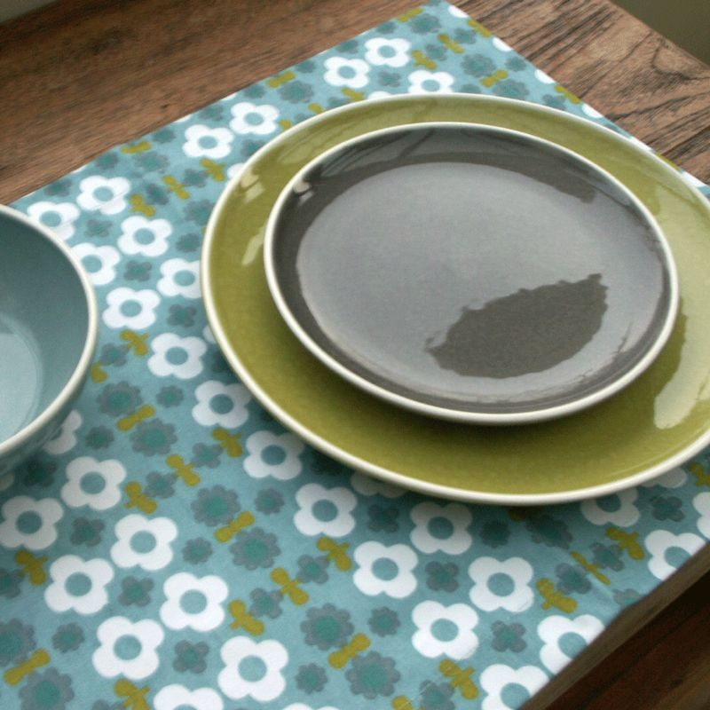 Sixties - Assiette à dessert  Taupe en céramique(par6)