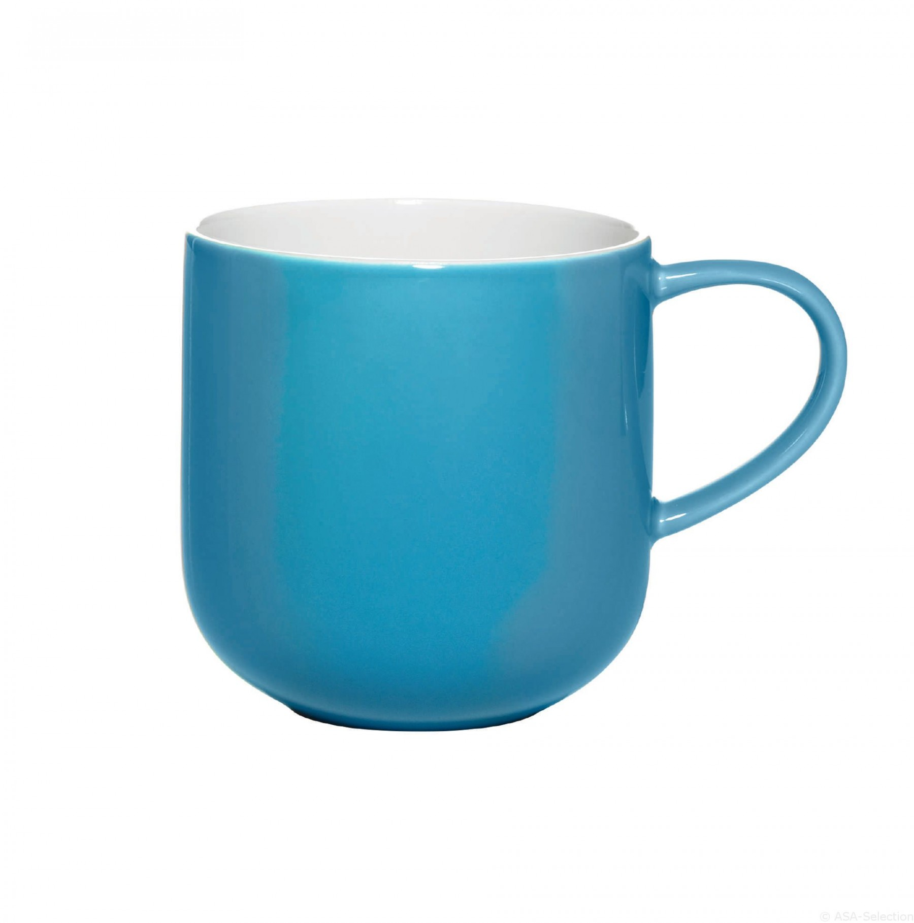 Colors it - Mug turquoise  40cl cm en porcelaine