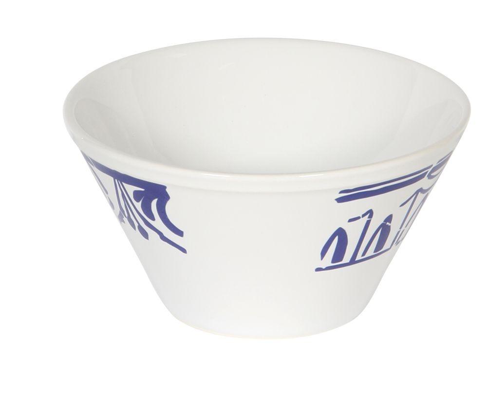 Evora - Coupelle en faience bleu et blanche (par 6)