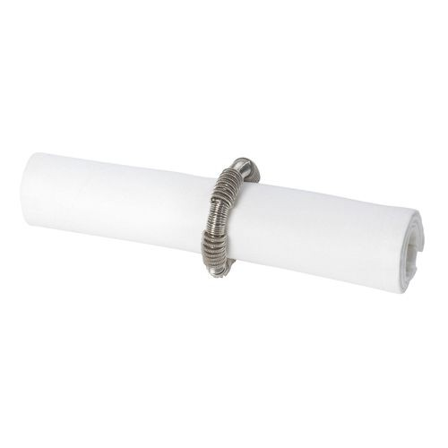 Ressort - rond de serviette en metal torsadé  (par2)