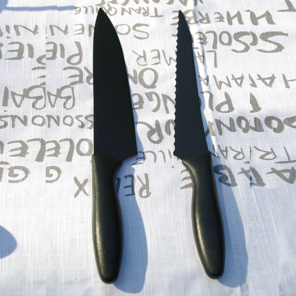 Project - Ensemble de couteaux à pain et à découper