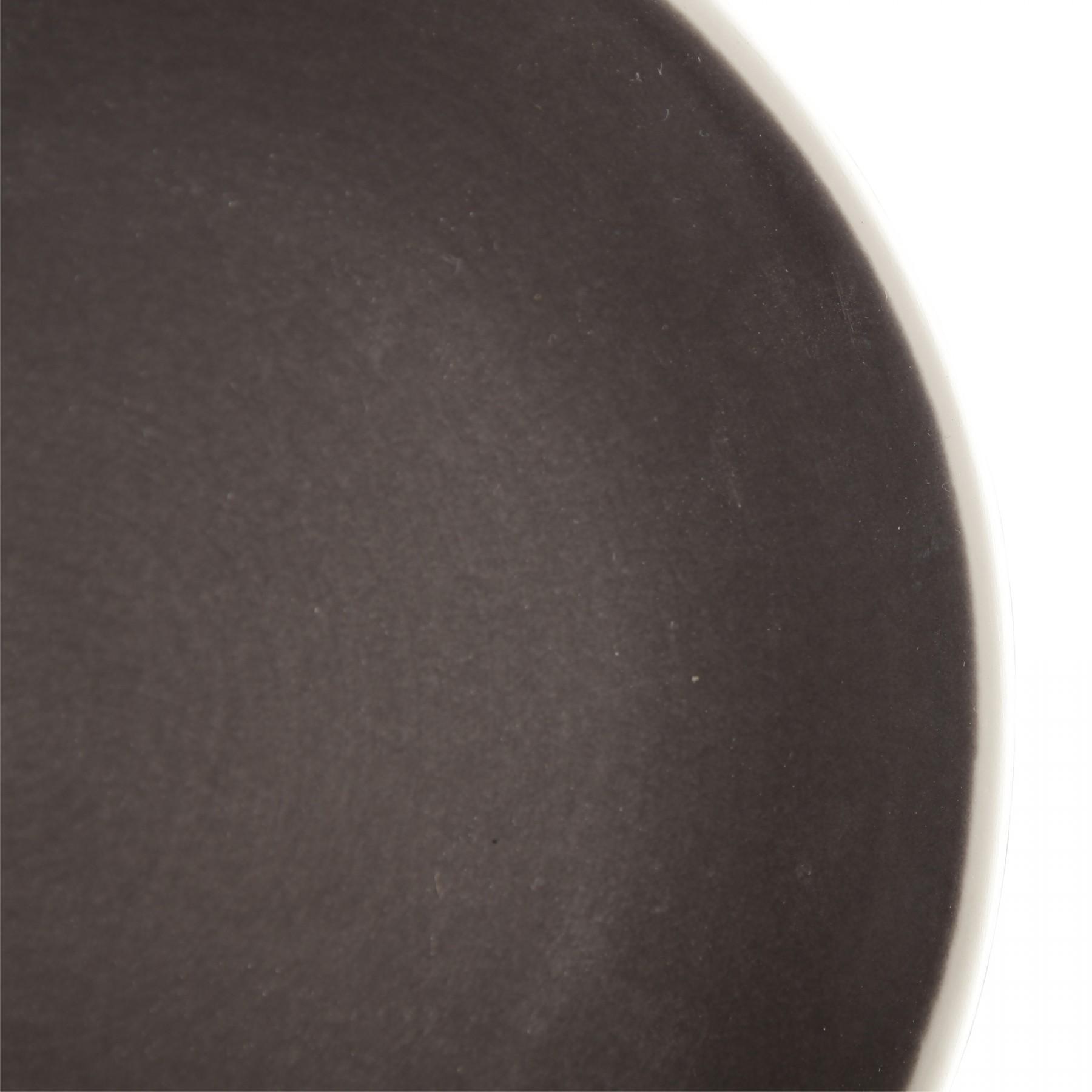 Zoe - Assiette à dessert couleur charbon (par2)