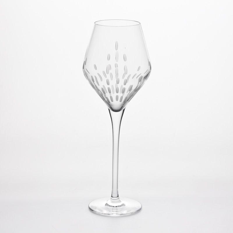 Spirit - verre à vin en cristal taillé (par6)