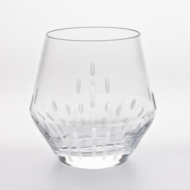 Spirit - Gobelet à eau en cristal taillé (par6)