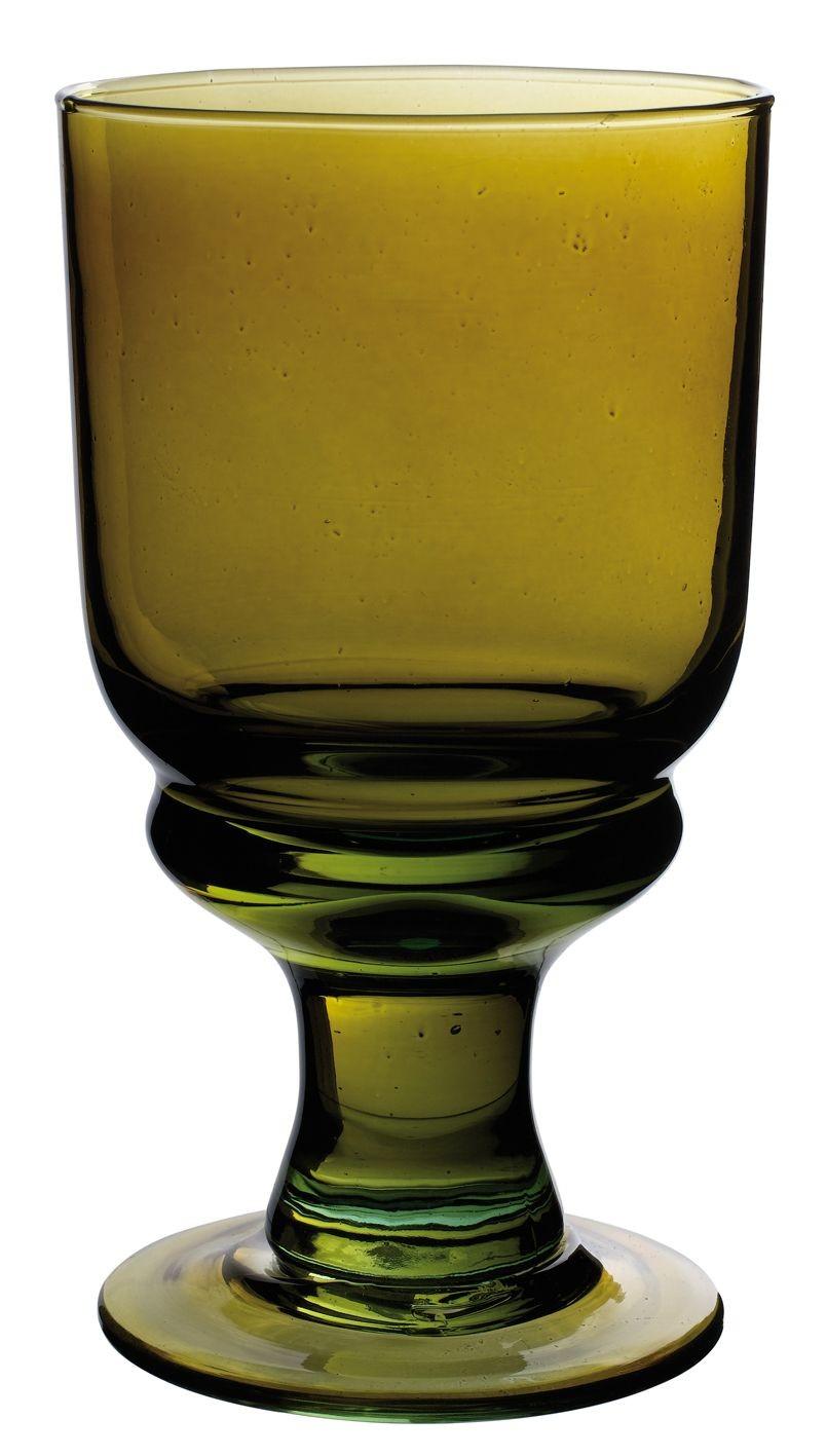 Lina - Verre à vin Lina olive 26cl (par6)