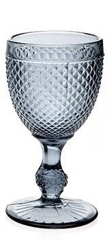 Diamond - Verre à pied gris (par 2)