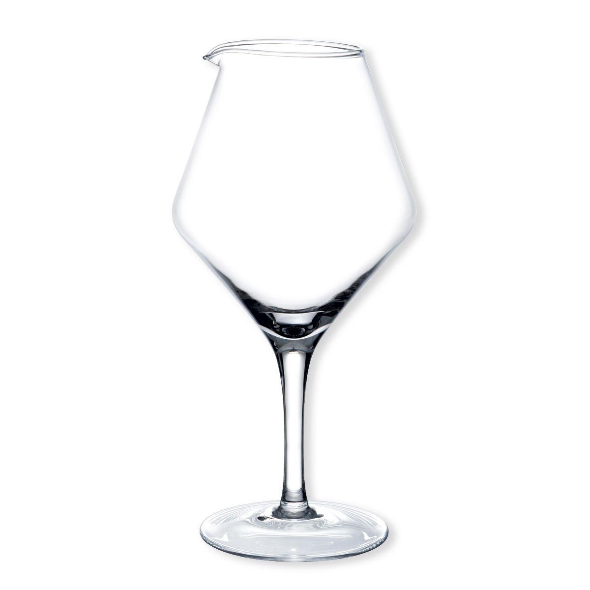 prestige d canteur en verre sur pied flutes coupes champagne verres pied verres. Black Bedroom Furniture Sets. Home Design Ideas