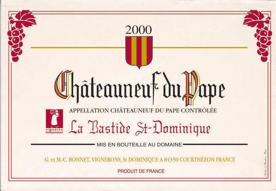 Beaujolais - Torchon chateauneuf du pape