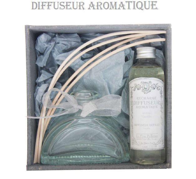 Encrier - Diffuseur aromatique Rose ancienne
