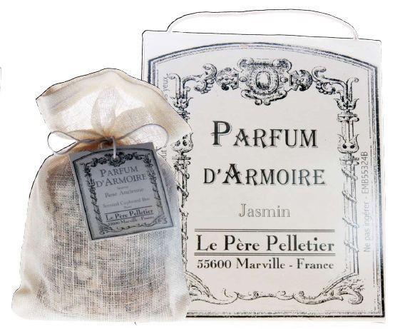 Autrefois - Pochon parfum d armoire feuille de thé