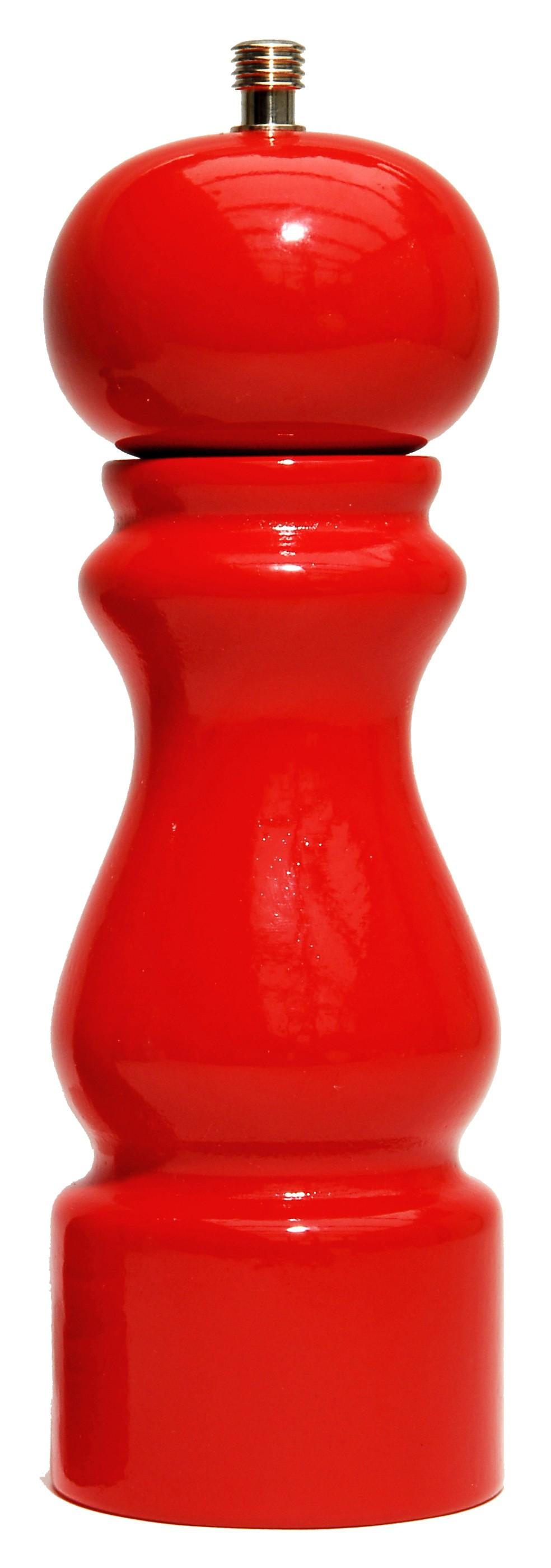 Colors - Moulin à poivre laqué brillant rouge 20cm