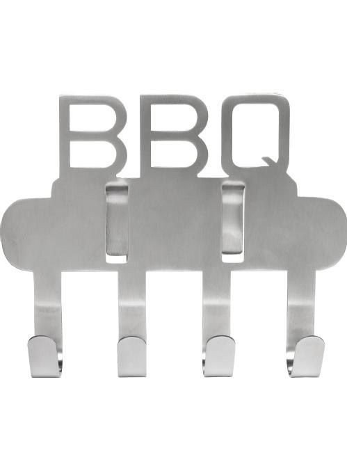 BBQ - Crochet pour bbq Inox