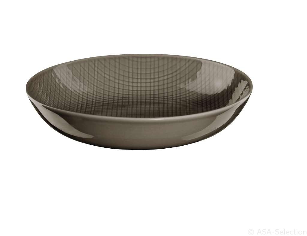 Voyage - Assiette creuse muscat porcelaine (par2)