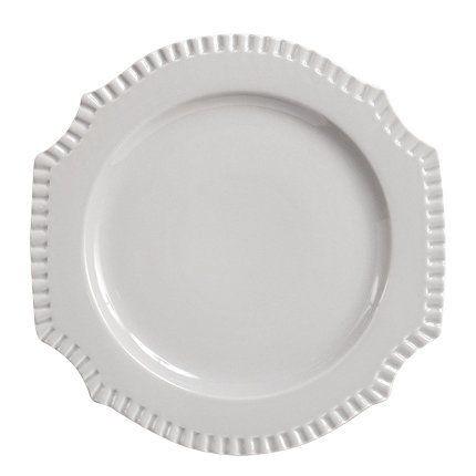 Helena - Assiette à dessert  grise (par3)