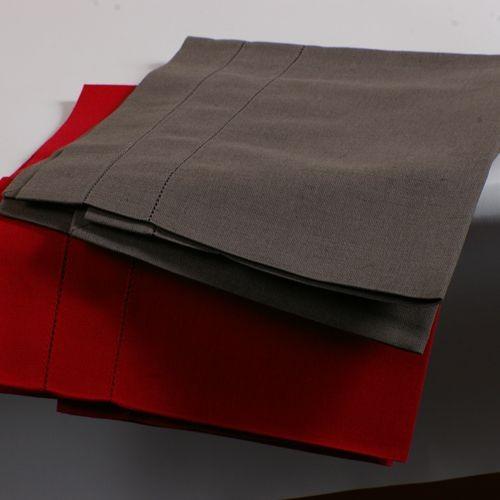 Birzai - Nappe 170x170 52%Lin 48%Coton granit