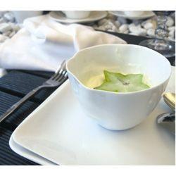 Caesar - Mini Coupelles blanches en porcelaine froissée  (par4)
