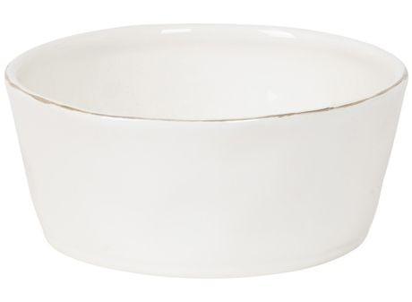 Cotta -bol  blanc en faience 17,5cm (par4)
