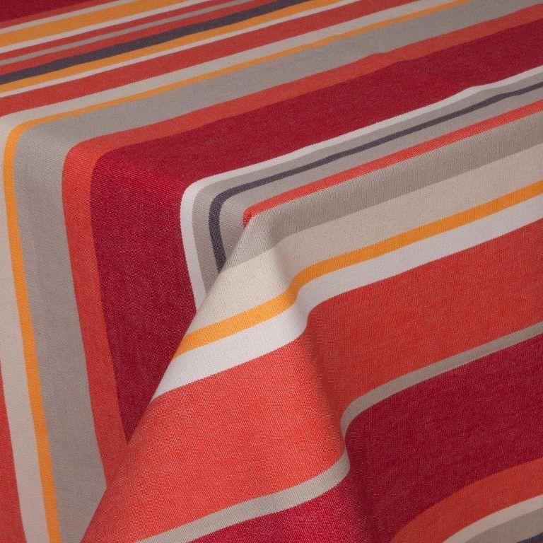 Boucau - nappe 178x178 100%coton traitement anti taches