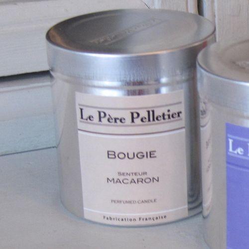 Tout Couleurs -Bougie Boite Alu   parfum macaron