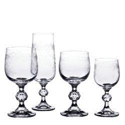 Claudia - Verre à vin  gravé (par6)