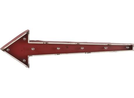 Vintage - Flèche deco lumineuse