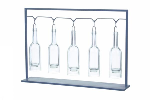 Botella - photophore 5 bouteilles