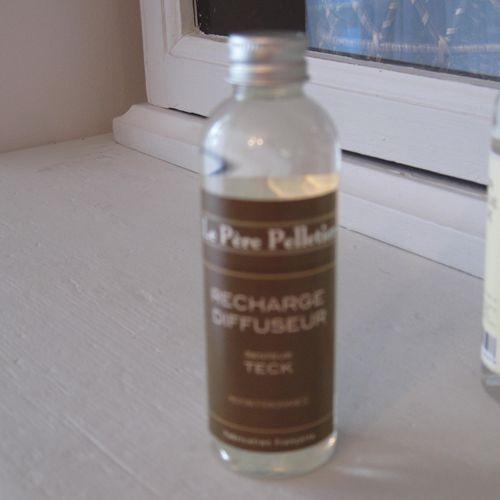 Tout Couleurs -Recharge diffuseur 100ml parfum teck