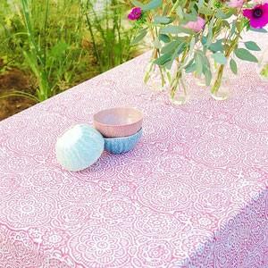Santa Rosa -serviette en papier rose et bleu (paquet de  20)