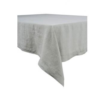 Naïs - Serviette de table en Lin stonewash grise (par6)