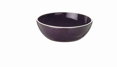 Sixties - Assiette à céréales creuse Encre 16cm (par6)