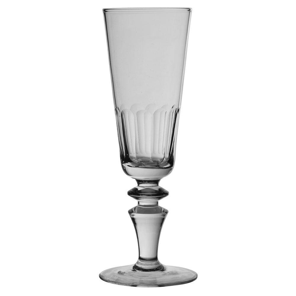 Vienne - flute à champagne cote plate (par6)