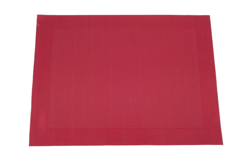 Vyni'L - set de table rouge ( par 6)