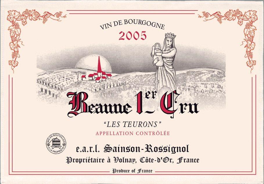 Bourgogne - Torchon beaune 1er cru les teurons
