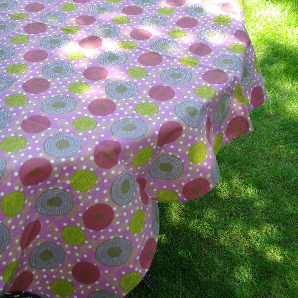 Kimono - Nappe lavande chambray carrée