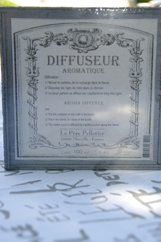 Encrier - Diffuseur aromatique Sous le figuier