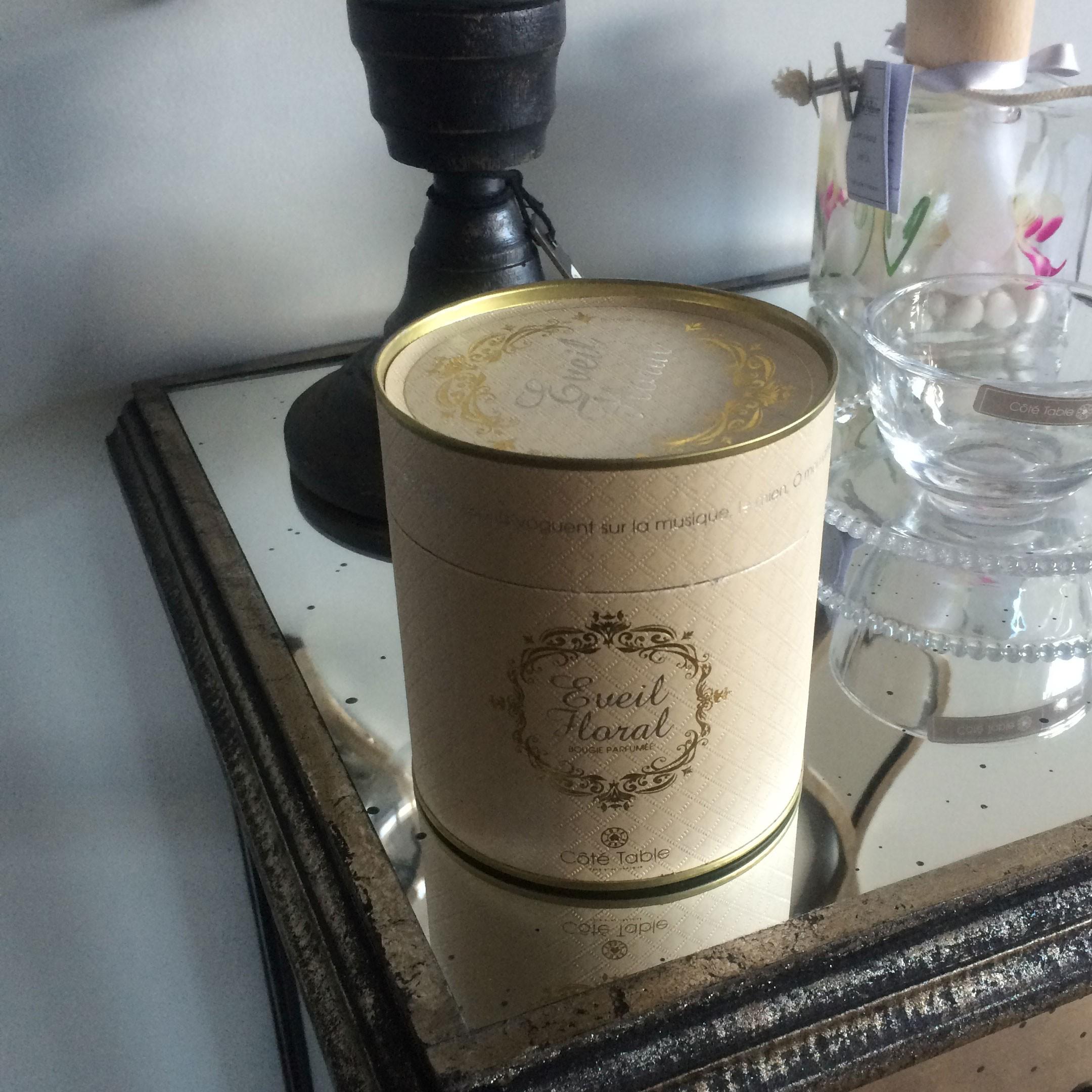 Elegance - bougie parfum de grasse eveil floral
