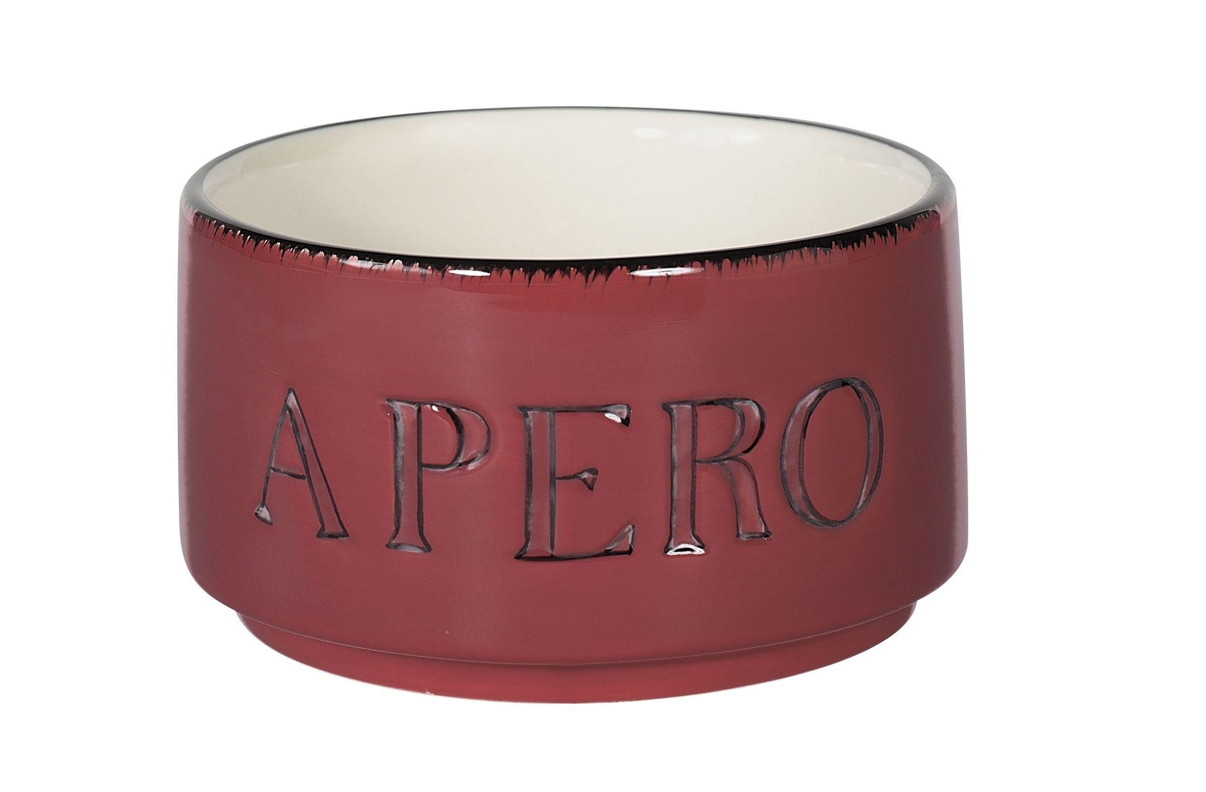 Apéro  -  Bol apéro framboise en céramique (par4)