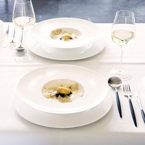 Atable -assiette plate  porcelaine fine bone china (par6)