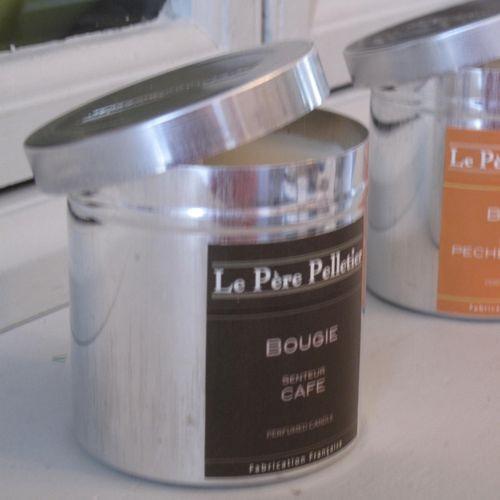 Tout Couleurs -Bougie Boite Alu   parfum café