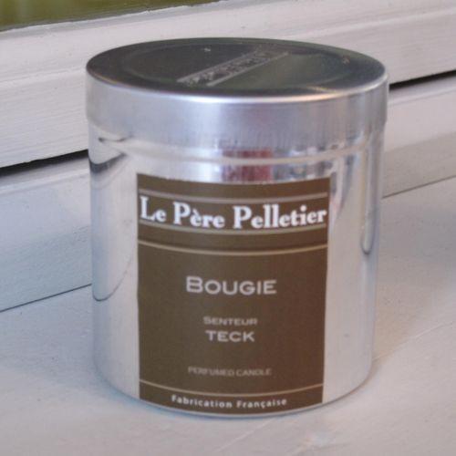 Tout Couleurs -Bougie Boite Alu   parfum teck