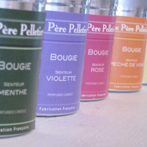 Tout Couleurs -Bougie Boite Alu   parfum violette
