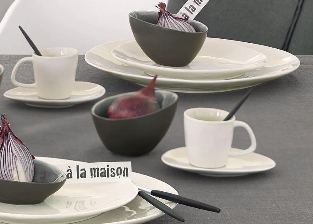 A  la maison  -  Tasse champagne en ceramique   (par6)